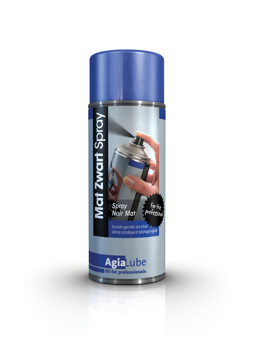 Mat Zwart Spray