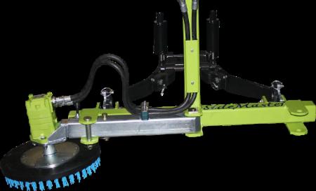 Kunstgras borstelmachine aanbouw