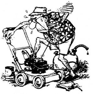 grasmaaier repareren