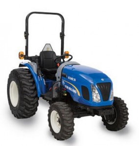 Boomer 35 New Holland tractor
