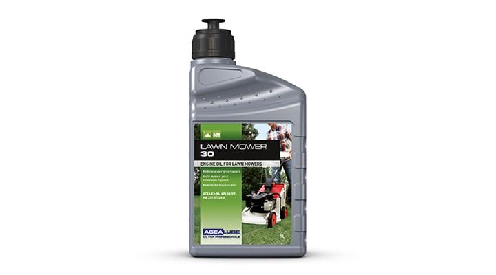 Motorolie voor grasmaaiers