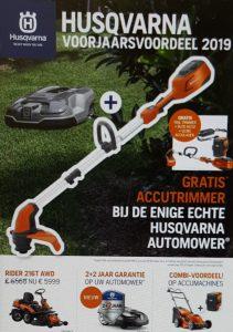 Voorjaarsbrochure 2019 Husqvarna