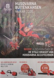 Najaarsactie 2020 Husqvarna